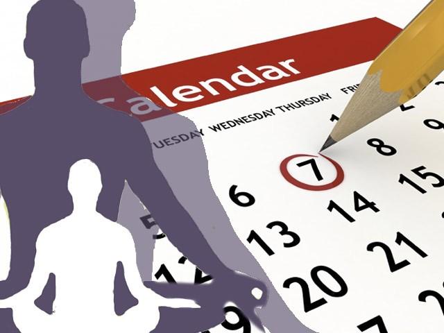 calendrier STAGES ET COURS Octobre nov dec 2015